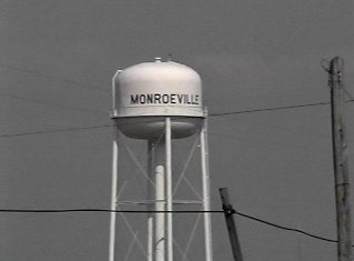 Monroeville water tower